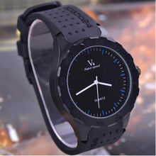 Hot sale football fashion casual male sports watch silicone alloy wristwatches men sports watches 2015 Montre