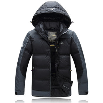 Hot sale , Winter Jacket Men , Waterproof , Men's Winter Coat , Parka , 90% white Goose down ,Embroidery Logo Free shipping(China (Mainland))