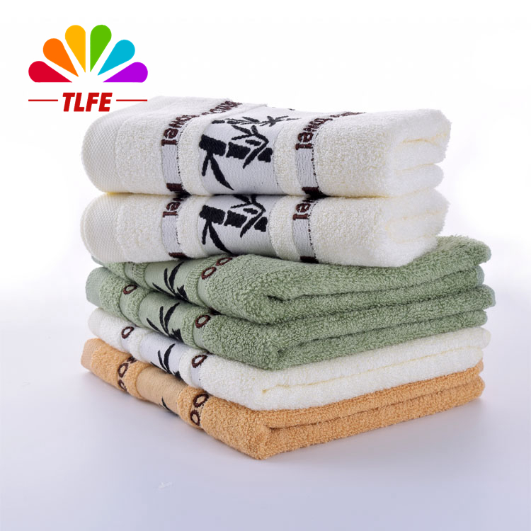 TLFE 3pcs/lot New 100% Bamboo Hand Towels Brand Set for Adults Home Face Towels Bathroom Kitchen Cleaning Quick-Dry toalha S0001(China (Mainland))