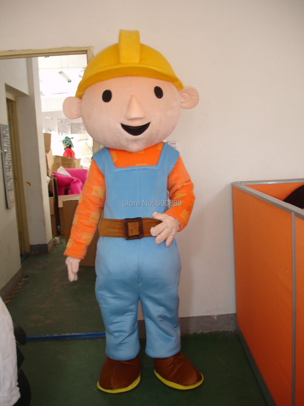 Bob The Builder Halloween Costume For Adults New Adult Mascot Costume Bob