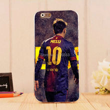 hot Messi Athlete & Sports Stars Series Protective Soft Silicon TPU case for iphone6 6S(4.7inch) and iphone6 6Splus(5.5inch)