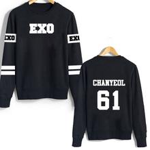 kpop exo kar sehun xiumin baekhyun terra  sticker sweatshirt  women sweatshirt women exo hoodies harajuku exo(China (Mainland))