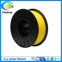 1 75mm Yellow PLA 3D Printer supplier plastic rubber consumable material 1kg Spool 2 2lbs