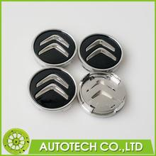 4Pcs 60mm Black Citroen Wheel Center Caps Wheel Center Emblem Badge Fits C2 C3 C4 C5 C6 C-Quatre Hub Caps Emblems Badge(China (Mainland))