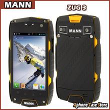 Original MANN ZUG 3 4GB+1GB Waterproof Dustproof Shockproof SmartPhone 4.0″ 3G Android 4.3 Qualcomm MSM8212 Quad Core Dual SIM