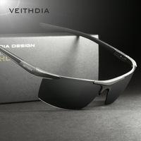 알루미늄 마그네슘 선글라스 편광 스포츠 남성 코팅 미러 운전 oculos 안경 남성 안경 액세서리 6588