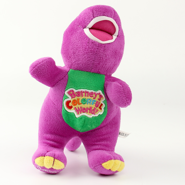 "Dinosaur Barney 12"" I LOVE YOU Plush Doll Toy Gift For Kids Girls(China (Mainland))"