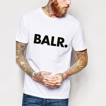 Sport Football BALR T Shirts Men Soccer balr Man T-Shirt Cotton O Neck Mens Tops Free Shipping Euro Size