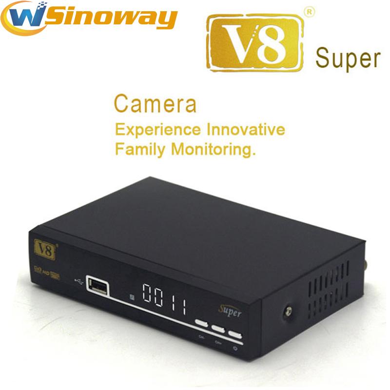V8 super powervu dvb s2 support 3g iptv cccam newcamd PVR via usb Wifi dongle satellite receiver Better openbox z5 mini cloud(China (Mainland))