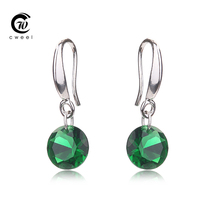 Cweel Crystal Stud Earrings Women Wedding CZ Diamond For Teen Girls Bridal Party Holiday Fashion Earring Accessories(China (Mainland))