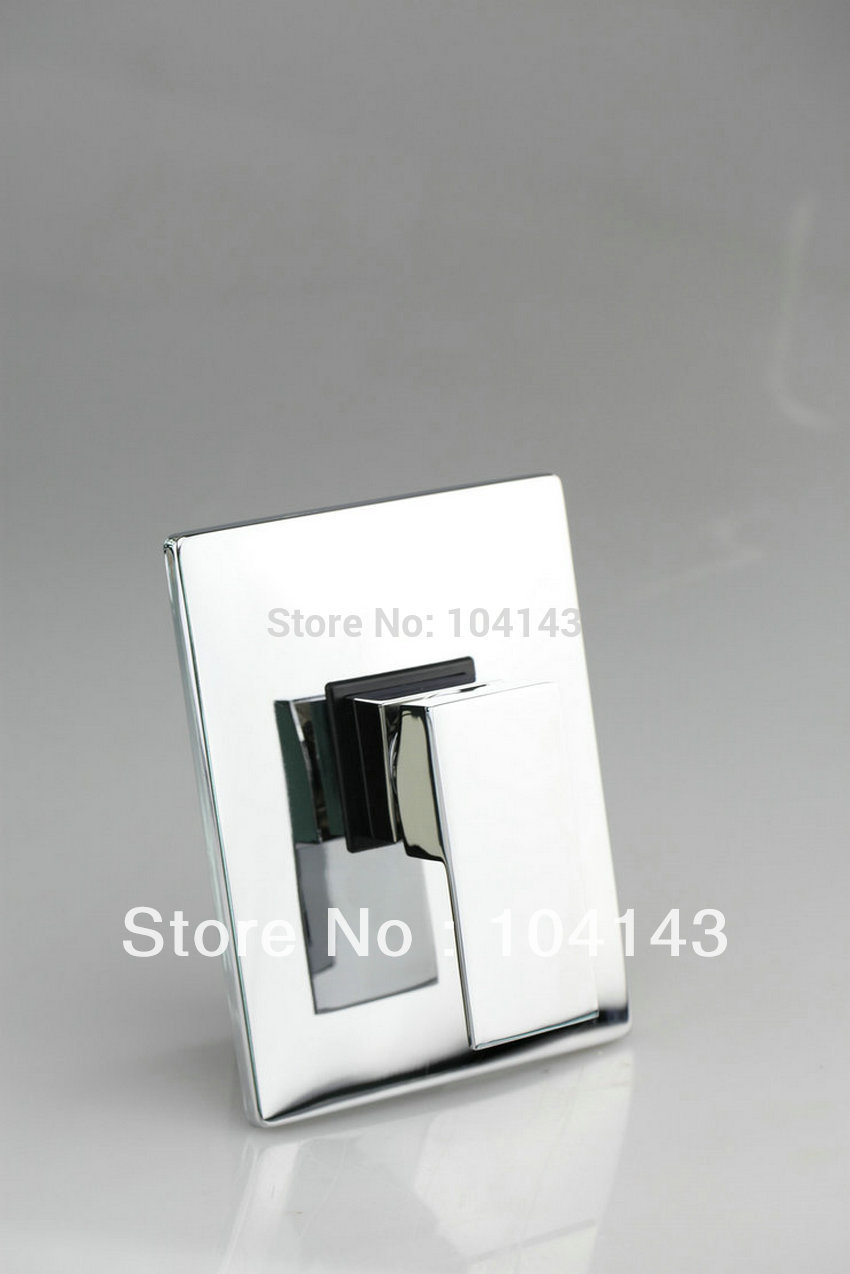 5501/1 competive price Square Wall Mount Shower Mixer Faucet Control Valve(China (Mainland))