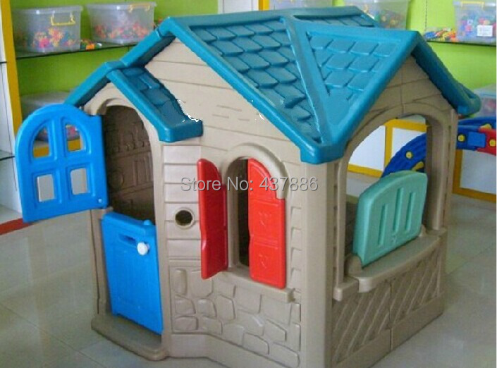 Compra casa de pl stico online al por mayor de china for Casas de plastico para jardin
