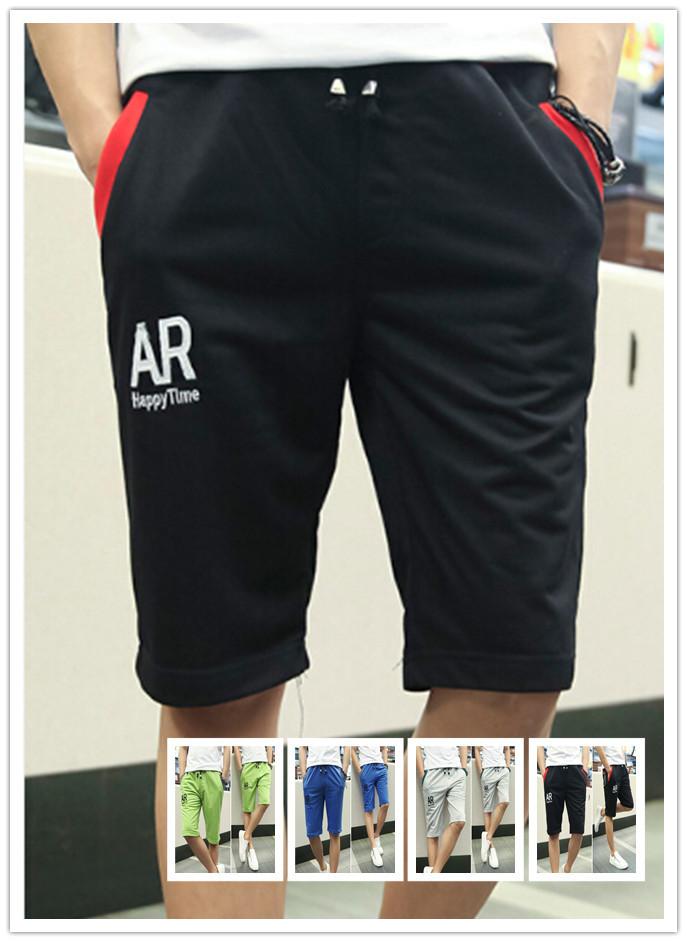 Bermuda Masculina 2015 Knee Sweat Shorts Men Sport Shorts Fleece Man Brand Joggers Casual Outdoor Leisure Sweatpants Knee Length(China (Mainland))