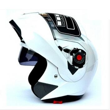 HOT Genuine JIEKAI mens motocross helmet Dual Lens full face helmet motorcycle helmet flip up Gift windproof mask Size:M~XXL(China (Mainland))