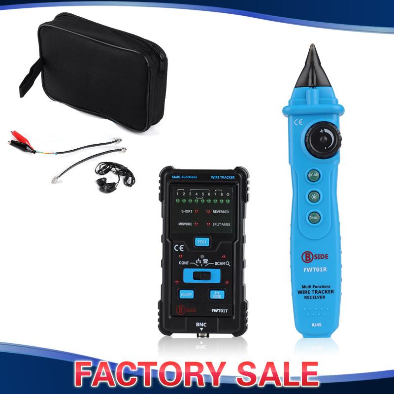 2015 RJ11 RJ45 Cat5 Cat6 Telephone Wire Tracker Tracer Toner Ethernet LAN Network Cable Tester Detector Line Finder - BlueFire Tech LTD store
