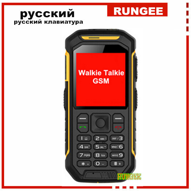 2016 New Original Walkie Talkie PTT Phone X6 LCD GSM Senior old man phone 2500mAH Shockproof Dustproof Phone s6 v8 a12 zugs dg22(China (Mainland))
