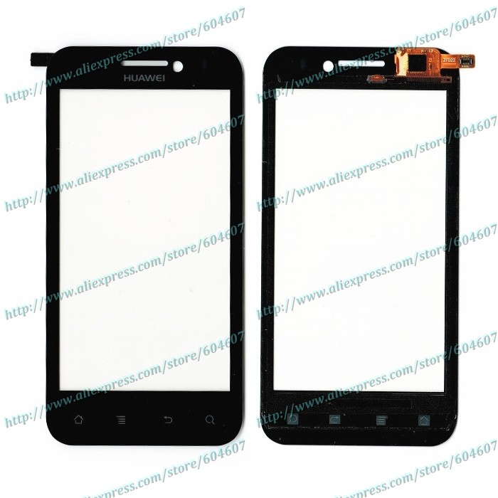 Lot 10pcs New Black Original Touch Screen with Digitizer For Huawei Mercury M886 Cricket Phone(China (Mainland))
