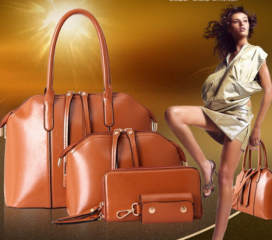 Women Handbag Brand Big Fashion Genuine Leather Bag Ladies Shoulder
