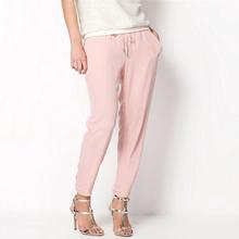 2015 summer new women's casual pants  fashion sexy chiffon pants elastic waist Rainbow pants trousers(China (Mainland))