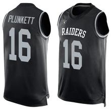 2016 Newstyle Fashion Raider Summer Must Haves Men's Derek Stabler Janikowski Carr Black Player Name Oakland Sporting Tank Top(China (Mainland))