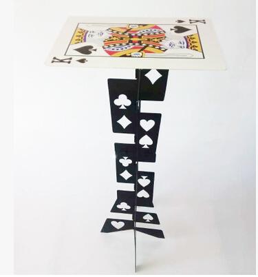 Free shipping new verson magic high quality aluminium alloy folding table magic table magic prop