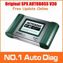 Original AutoBoss V30 Auto Scanner Online Update SPX AUTOBOSS V30 Unequalled Vehicle Diagnosis tool for America,Europe,Asia cars(China (Mainland))