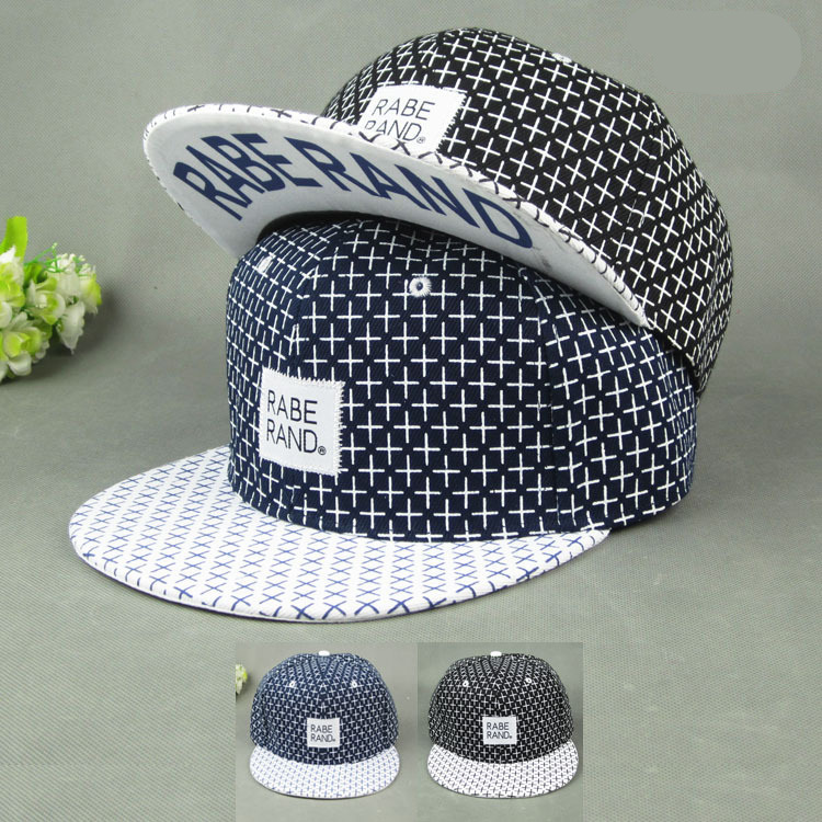 WOOKER Casual Sport Outdoor Hats For Women Men New Flat Hip Hop Male Vintage Print Polka Dot Baseball Caps Hot Sale CAPXH029(China (Mainland))