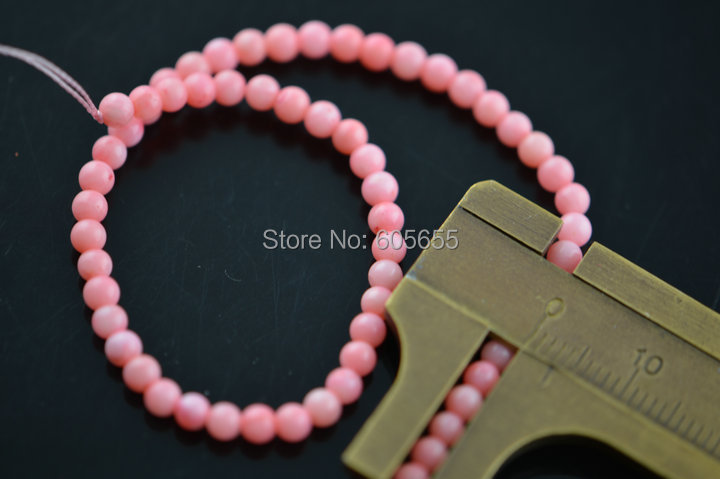 3mm Pink Coral Stone Round Seed Beads fit Fashion Jewelry DIY Beadword Necklace making<br><br>Aliexpress