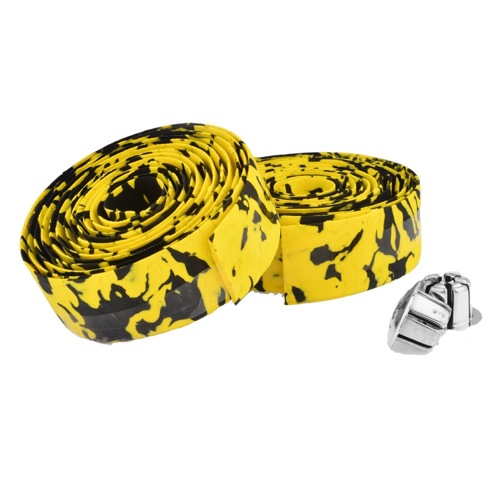 1 95m 30 2 5mm Pure Color and Camouflage Cycling Handle Belt Road Bike Bicycle Cork