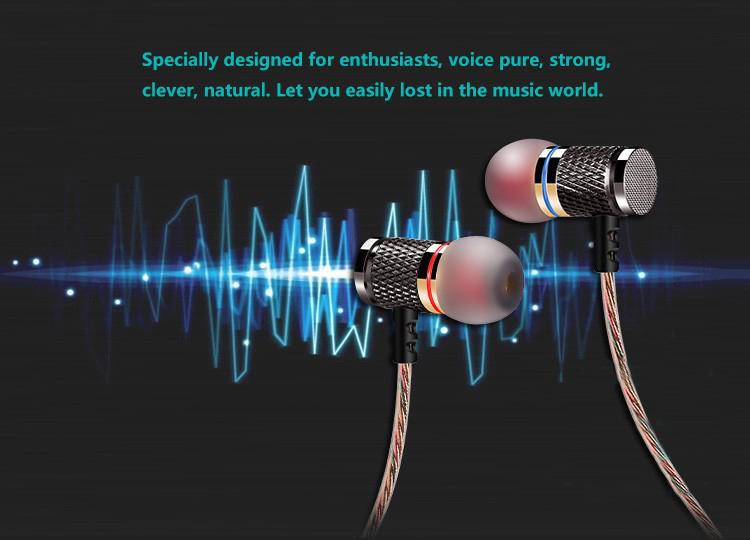 KZ-ED2 Professional In-Ear Earphone Metal Heavy Bass Sound Quality Music Earphone China's High-End Brand Headset fone de ouvido