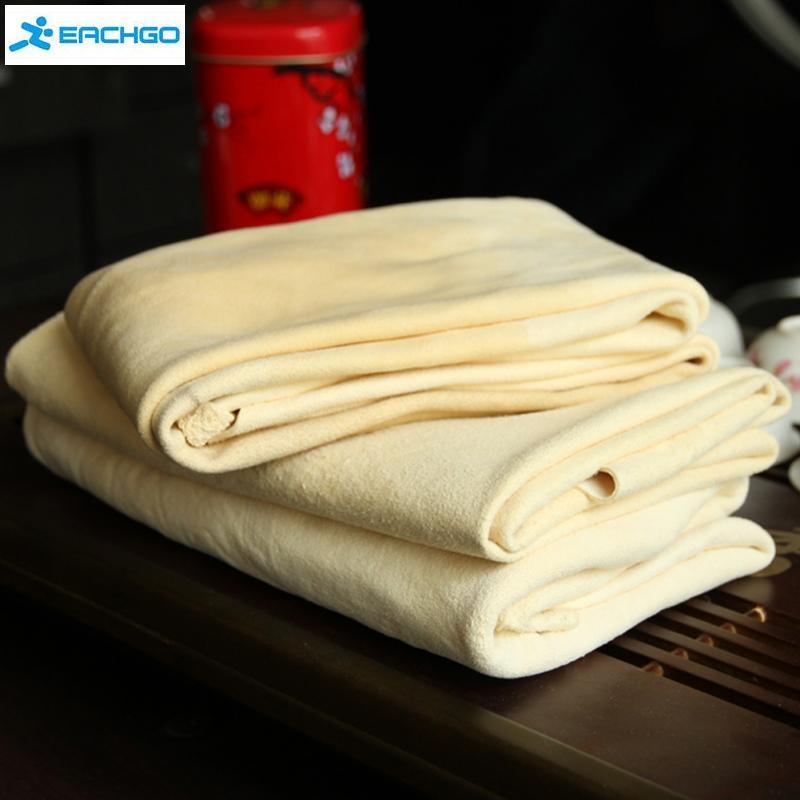Autocare очень большой авто естественная сушка серна ( 45 x 55 см приблизительно ) оленьей очистки Cham из натуральной кожи ткань