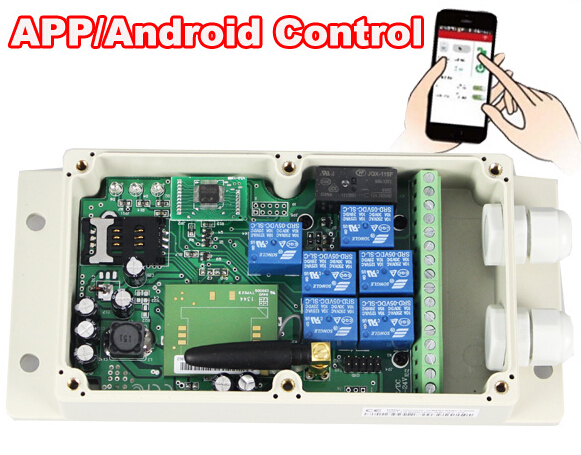 Barrier Gate GSM SWITCH/MOBILE PHONE REMOTE CONTROL ACTIVATE YOUR MACHINERY REMOTELY WITH YOUR MOBILE PHONE(China (Mainland))