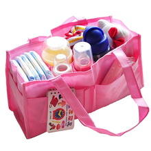 SCYL Mummy Bag Bottle Storage Multifunctional Separate Bag,Nappy Maternity Handbag Baby Tote Diaper Organizer