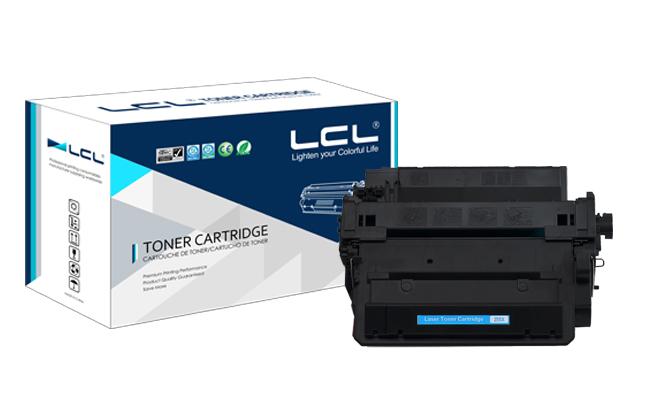 LCL(TM) Replacement  HP CE255X (1-Pack,Black)12.5K Laser Toner Cartridge Compatible  for HP LaserJet  Enterprise P3010/P3015<br><br>Aliexpress
