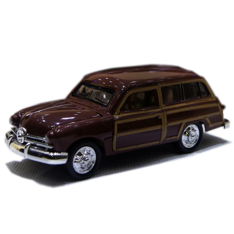 1:32 Classic Chrysler Wecker Vintage Car Models Alloy Diecast Vehicle Pull Red Model Toys Car Collection Furnish Kids Gifts #F(China (Mainland))