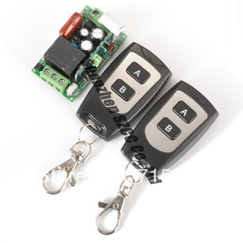 self-Latched/Latched adjustable 220V 1CH Wireless Remote Control System For Home Applicances
