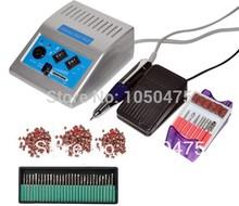 Free shipping/Drop 110V/220V grey 278 Electric Nail drill Manicure machine Pedicure Drill File Tool Kit 12V