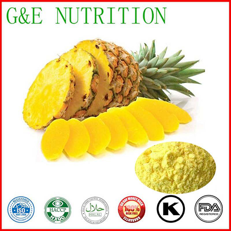 Pineapple Extract Powder 10:1 Pineapple Extract Powder 1000G/LOT