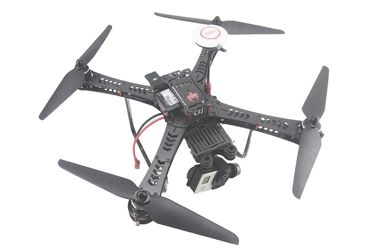 diy fpv race mini drone cf360 quadcopter full carbon fiber frame carry gopro or 808 camera
