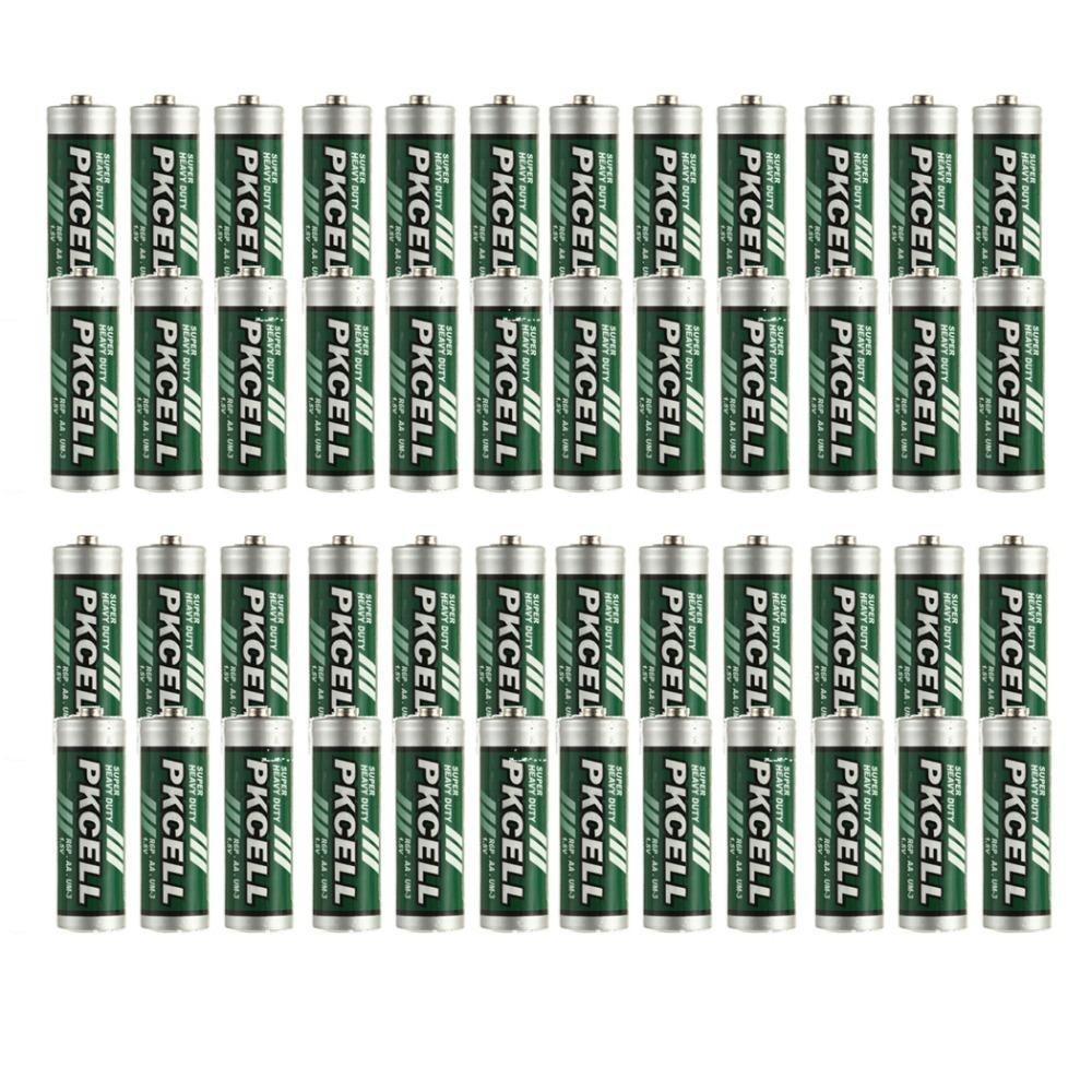 Сухая электрическая батарея 48Pcs/PKCELL 1, 5 R6P 2A AA