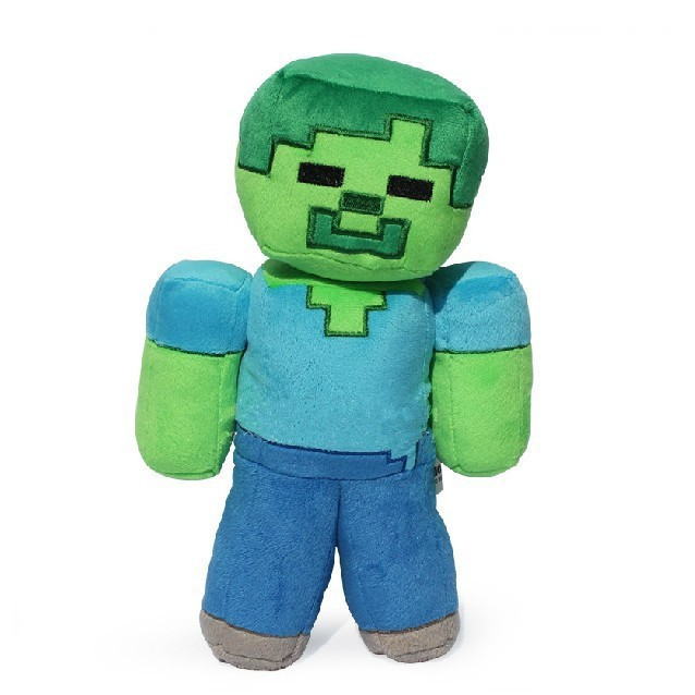 5pcs/lot BIg Size 30cm Minecraft Steve Plush Toys Large Minecraft MC Steve Creeper Zombie Stuffed Plush Toys Soft Toy Gift<br><br>Aliexpress