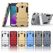 Galaxy J3 2016 5.0'' Smart Phone Case Dual Layer Hybrid Armor Cover Kickstand Protective Back Samsung j300 J3000 - EQT Group store