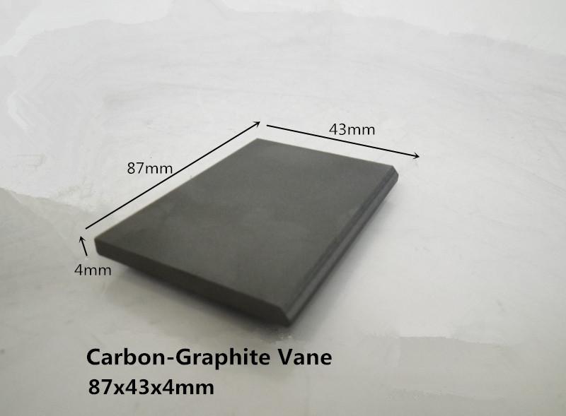 87x43x4mm  Carbon Graphite Vane        for Becker  vacuum pump /   automotive anti-smog pumps<br><br>Aliexpress
