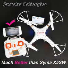 X6sw professional WIFI Fpv Toys Camera rc quadcopter helicopter drone gopro drones with camera HD VS free shipping