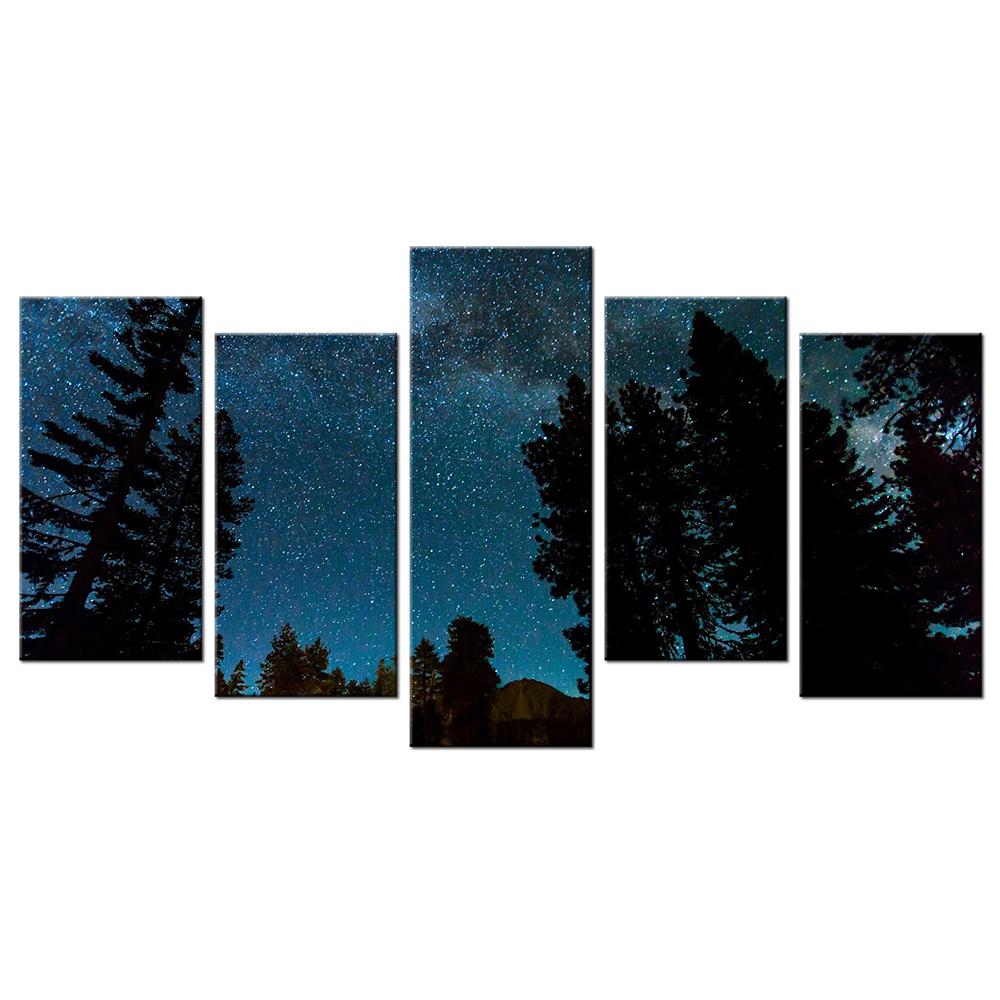 Comparer les prix sur starry night poster online for Decoration murale nuit etoilee