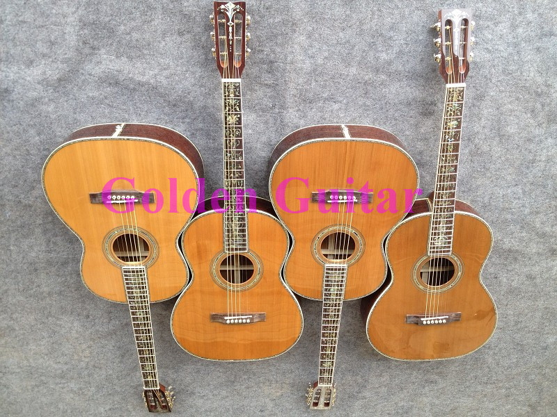 Classic Chinese Guitar Natural Acoustic Guitar Flower Fingerboard HOT Free Shipping A2065(China (Mainland))