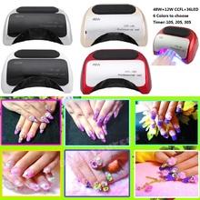 Lámpara UV para esmalte de uñas de gel con sensor de manos