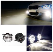 Car styling led Fog Lights Mitsubishi Grandis NA_W MPV 2004-2011 fog lamps 10W DRL 1SET - Lei MeNg AuTO NO. 1 store