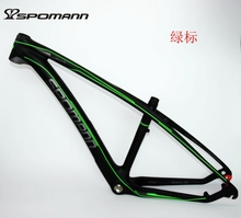 """Buy 2017 Newest SPOMANN 26*15.5/17.5/19.5"""" inch Mountain bicycle matte UD full carbon fibre bike frames MTB 26er+headsets Free ship for $363.73 in AliExpress store"""
