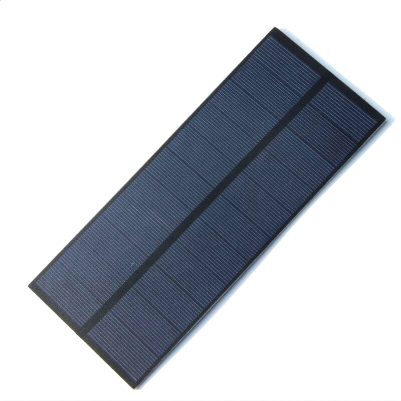 Wholesale 2.2W 5.5V Polycrystalline PET Solar Panels Small For 3.6V Battery Diy Solar Cell Charger Study 188*78.5MM 100pcs/lot(China (Mainland))